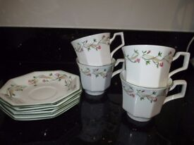 ETERNAL BEAU CUPS AND SAUCERS