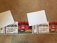 Reading Weekend Camping Tickets x2