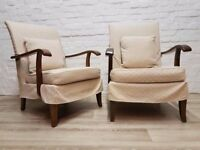 Pair Of Parker Knoll Armchairs (DELIVERY AVAILABLE)