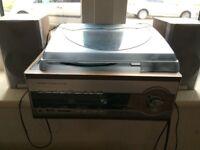 Turntable USB CD Radio System