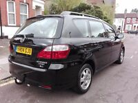 TOYOTA AVENSIS VERSO D-4D DIESEL 7 SEATER SAT NAV BLACK IMMACULATE PX