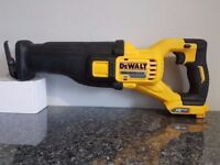 DeWALT DCS388 54v li-ion XR FLEX VOLT BRUSHLESS Reciprocating SAW BODY ONLY...MAKITA BOSCH