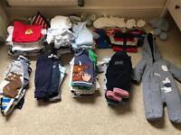 Baby boys 0-3 months clothing bundle