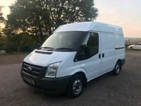 Ford transit 85 T280 short wheel base middle roof full racked