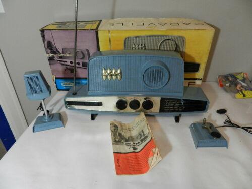 VINTAGE REMCO CARAVELLE TRANSMITTER - RECEIVER- IN ORIG. BOX- VINTAGE RADIO