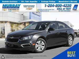 2015 Chevrolet Cruze LT 1LT *Remote Start, Rear View Camera, OnS