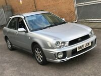 2002 SUBARU IMPREZA 2.0 GX 4WD SPORTWAGON ESTATE AUTOMATIC PETROL 5 SEAT TOW BAR POWERFUL N LANCER