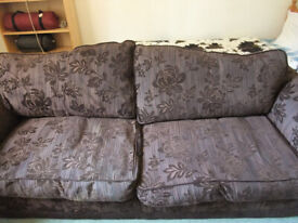 3-Seater DFS Sofa Chair And Foot Stool