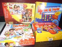 4 Boxed Children's Games - Great Condition