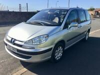 7 Seater Peugeot 806 People Carrier Diesel hdi with towbar