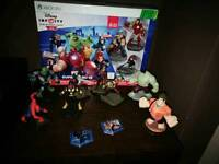 Disney infinity 2.0 for Xbox 360 plus extra figures