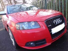 56 reg s line replica audi a3 1.9 tdi diesel 5 door needs some tlc DRIVES WELL DRIVEAWAY OR DELIVERY