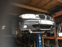05 BMW 1 SERIES 2.0 TDI BLACK MANUAL FOR PARTS