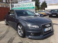 Audi A4 2.0 TFSI S Line Multitronic 4dr£9,500 p/x welcome TOP OF THE RANGE MODEL!!!