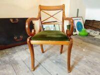 Elegant carver chairs