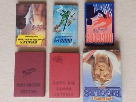 Collection Of Biggles Books
