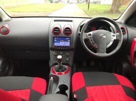 Nissan Qashqai 1.5 5dr WARRANTY, SAT NAV, REAR CAMERA, 6 MONTH FREE WARRANTY