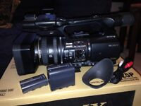 Sony HVR Z5 HD Video Camera Recorder 1080i to rent £50 / day