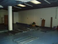 Industrial units for rent