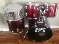 Session Pro 5 Piece Drum Kit (C/W Hardware & Cymbals)