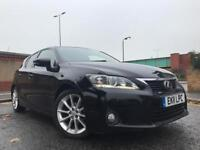 LEXUS CT200H HYBRID AUTOMATIC WITH NAVIGATION BLUETOOTH REVERSE CAMERA & LOTS MORE