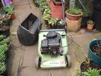 Hayter Petrol Lawn Mower (full Working order) Roller On The Back