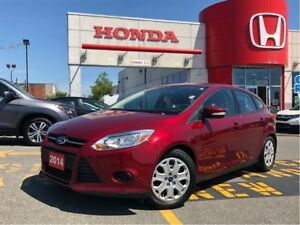 2014 Ford Focus SE, one owner, low km, clean carproof