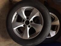 Genuine BMW alloys 16 inch