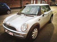 Mini one hatchback 1.6ltr 3dr 51 plate for sale! Low mileage and perfect condition!