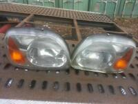 Nissan micra head lamps, left and right available