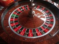 Cammegh Roulette Wheel with In-Rim Sensors. Newest Model, Excellent Condition