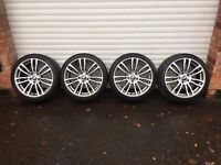 19'' GENUINE BMW F30 M SPORT 3 SERIES F31 4 ALLOY WHEELS E92 E90 5X120