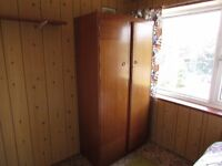 Single and Double Wooden Wardrobe