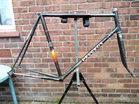 peugeot bike frame reynolds 753 decals - maybe purthus ? chorus ?