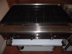 Charcoal Broiler 36 Brand New Radiant  Natural Gas or Propane Atosa