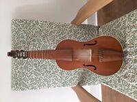 Johannes Adler antique treble viol, viola da gamba + case + bow + rosin