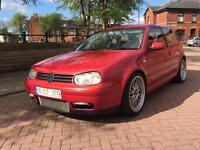 VOLKSWAGEN GOLF GTI 1.8T 2003 STAGE 2 RE MAP BBS'S LOWERED COIL OVERS MUST SEE!!