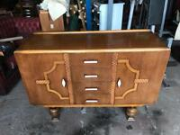 Vintage Art Deco sideboard can deliver