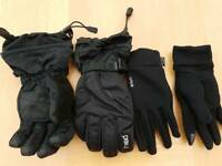 Boys Head ski gloves