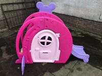 Minnie Mouse Slide House