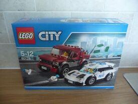 LEGO CITY SET 60128 POLICE PURUIT BNISB
