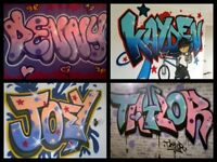 PROFESSIONAL GRAFFITI / MURAL ARTIST FOR HIRE 20 YEARS EXPERIENCE,