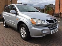 2006 56 SSANGYONG KYRON 2.0 TD SE 5DR 4X4 FULL SERVICE HISTORY LOW MILEAGE BARGAIN