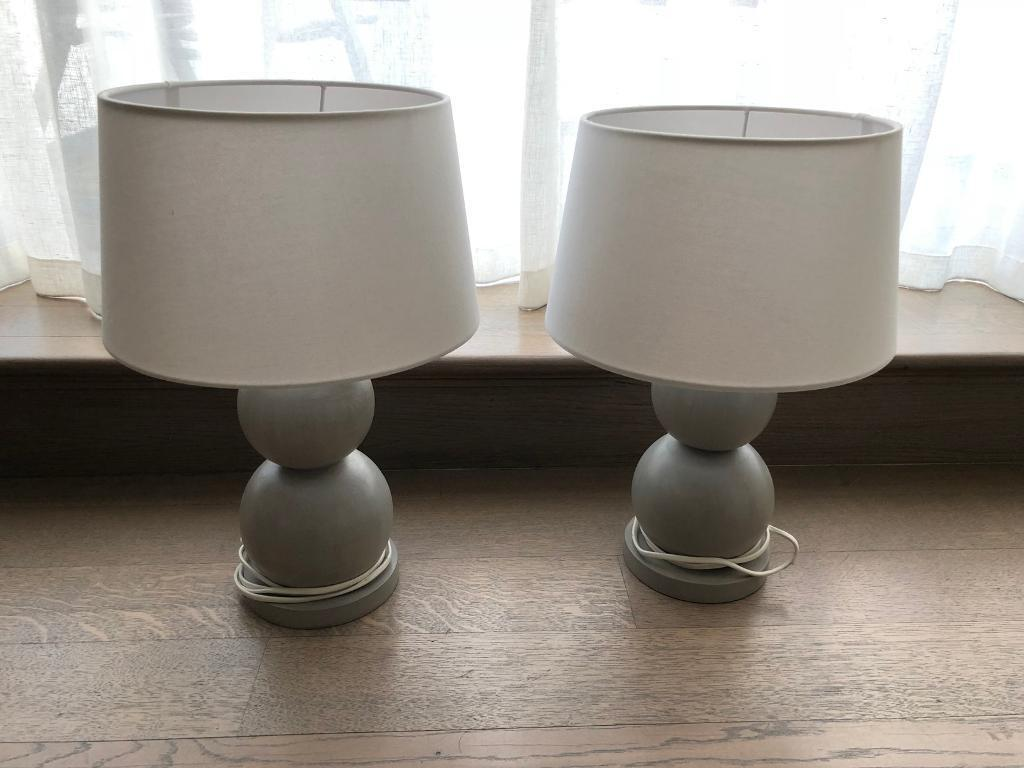 Pair of john lewis table lamps in chelsea london gumtree pair of john lewis table lamps aloadofball Choice Image