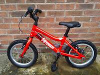 Ridgeback MX14 bike bicycle red
