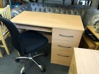 Desk and chair £35 ono