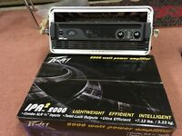 NEW YEAR NEW PA! Peavey IPR2 2000 power amp, pair of UL15 full range & UL115 subs, poles & cables