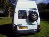 Renault trafic prima camper 2 berth 2.1 diesel 5 speed 11 month mot runs and drives super no damp