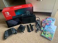 Grey Edition Nintendo Switch Bundle
