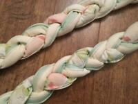 Plaited curtain tie backs